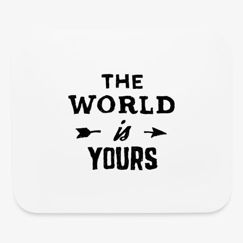 the world - Mouse pad Horizontal
