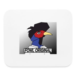 Fowl Original Logo - Mouse pad Horizontal