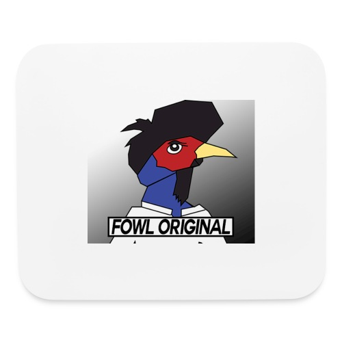 Fowl Original Logo - Mouse pad Horizontal