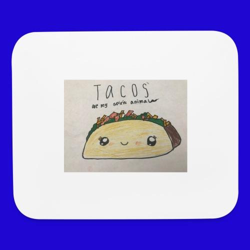 Tacos are my Spirit Animal - Mouse pad Horizontal
