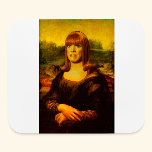 Miss Coco Lisa - Mouse pad Horizontal
