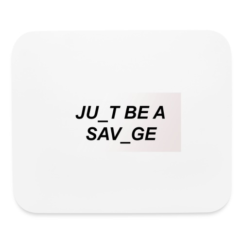 JU_T B A SVG - Mouse pad Horizontal