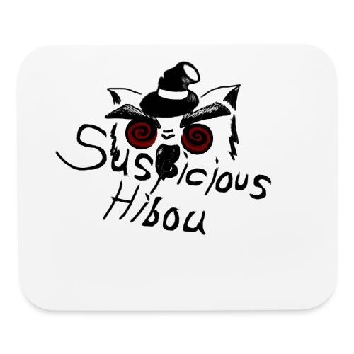 suspicious hibou dark emp - Mouse pad Horizontal
