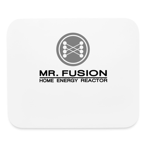 mr fusion1 - Mouse pad Horizontal