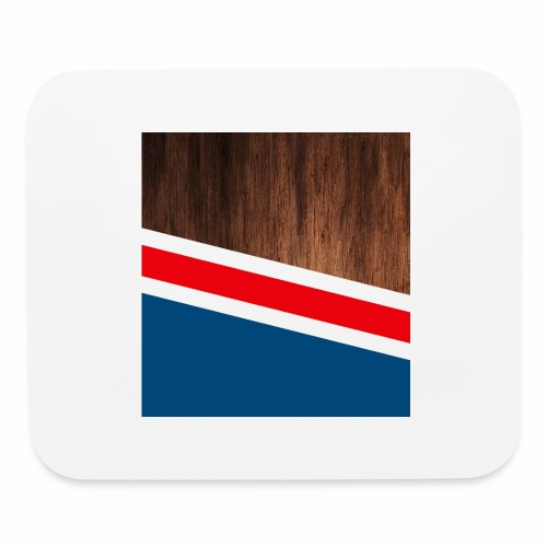 Wooden stripes - Mouse pad Horizontal