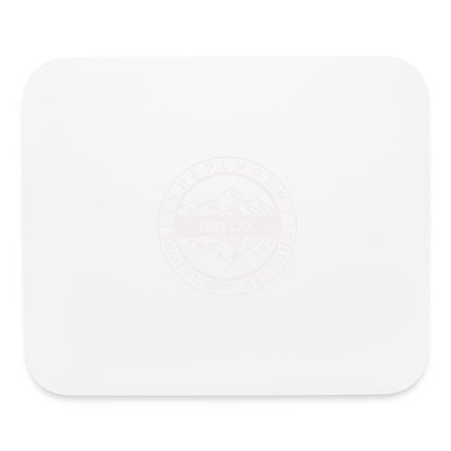 ISO Co. White Classic Emblem - Mouse pad Horizontal