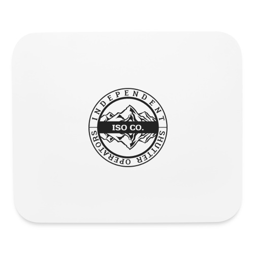 ISO Co. Black Classic Emblem - Mouse pad Horizontal