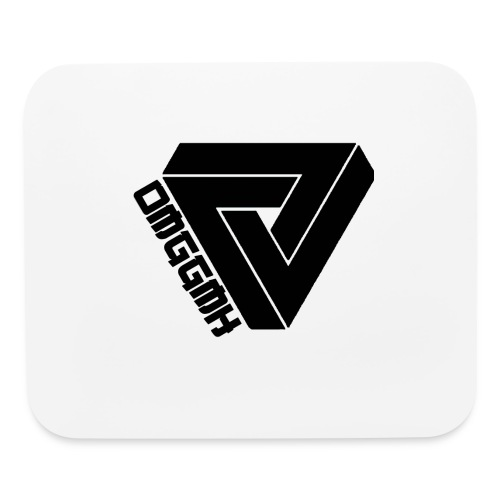 Black Logo - Mouse pad Horizontal