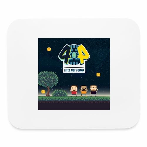 Logo and avatars - Mouse pad Horizontal