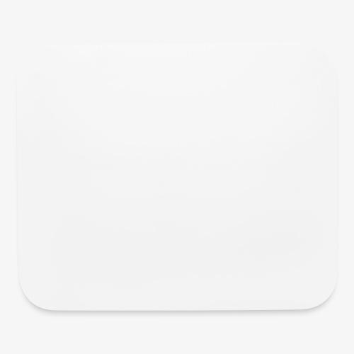 official white - Mouse pad Horizontal