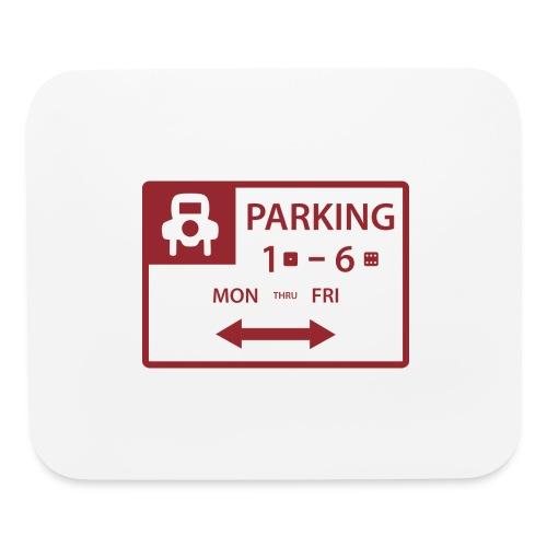 Free Parking - Mouse pad Horizontal