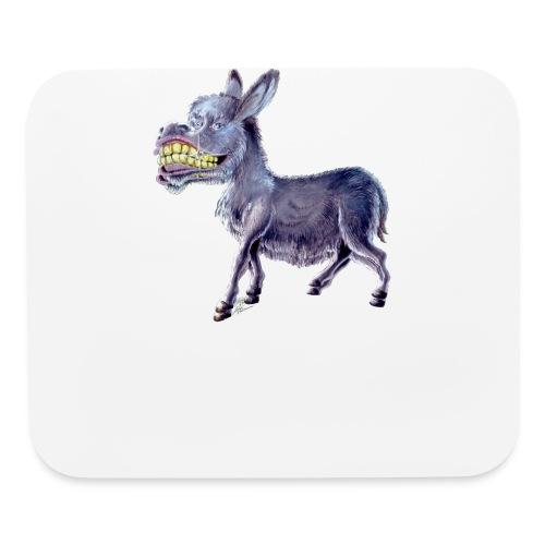 Funny Keep Smiling Donkey - Mouse pad Horizontal