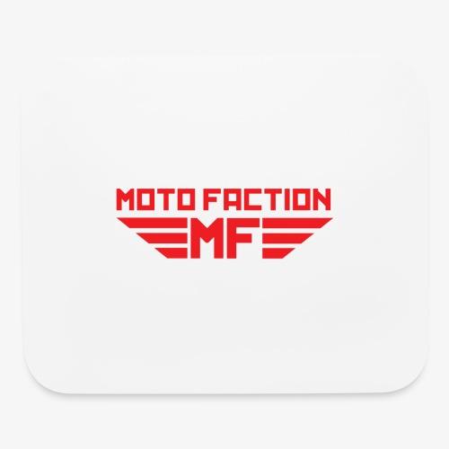 MotoFaction Logo - Mouse pad Horizontal