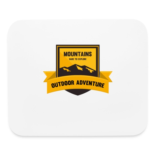 Mountains Dare to explore T-shirt - Mouse pad Horizontal