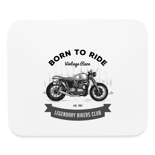 Born to ride Vintage Race T-shirt - Mouse pad Horizontal