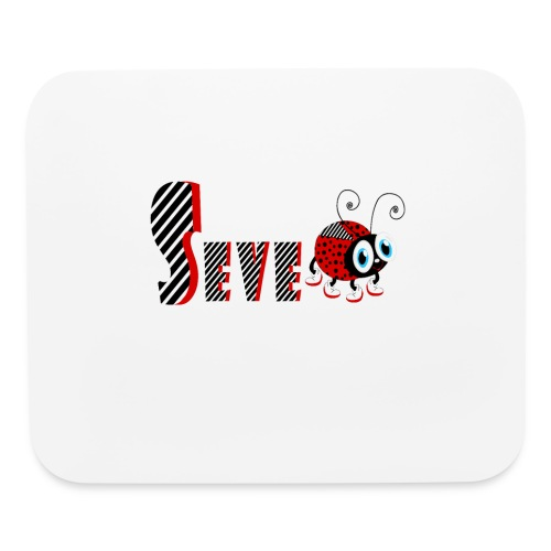 7nd Year Family Ladybug T-Shirts Gifts Daughter - Mouse pad Horizontal