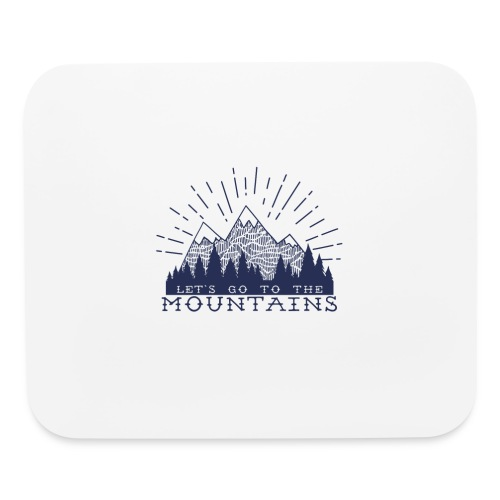 Adventure Mountains T-shirts and Products - Mouse pad Horizontal