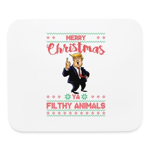 MEERRY CHRISTMAS YA FILTHY ANIMALS - Mouse pad Horizontal