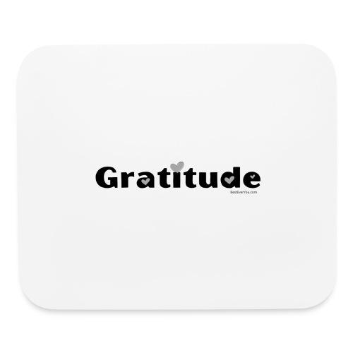 Gratitude - Mouse pad Horizontal