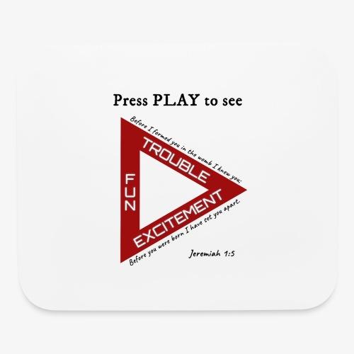 Press PLAY to See - Mouse pad Horizontal