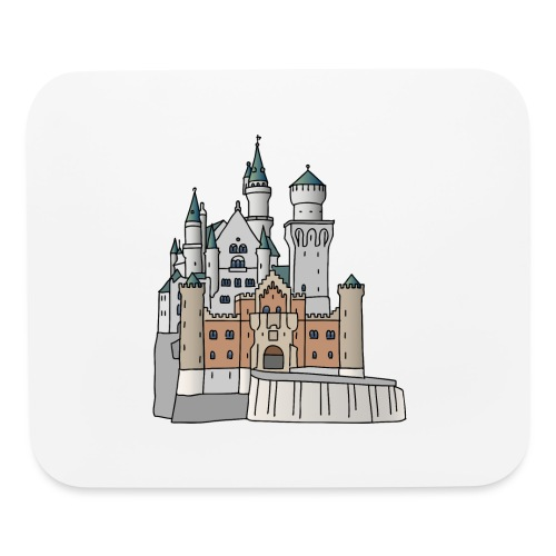 Neuschwanstein Castle, Bavaria - Mouse pad Horizontal