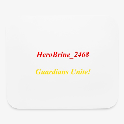 GUARDIANS UNITE - Mouse pad Horizontal