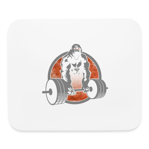 Gorilla Lifting Weightlifting - Mouse pad Horizontal