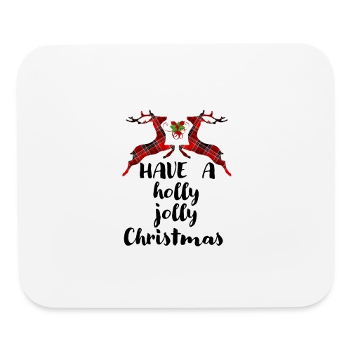 Holly Jolly Christmas - Mouse pad Horizontal