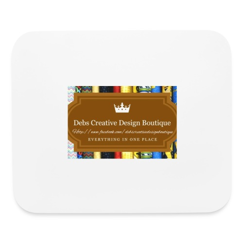 Debs Creative Design Boutique with site - Mouse pad Horizontal