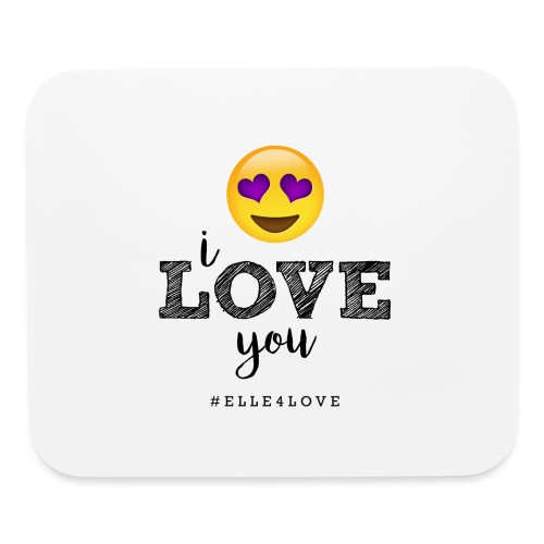 I LOVE you - Mouse pad Horizontal