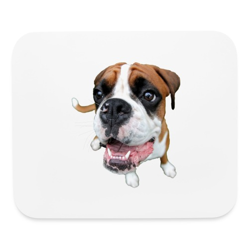 Boxer Rex the dog - Mouse pad Horizontal