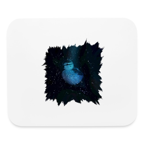 Galaxy Duckling in Space - Mouse pad Horizontal