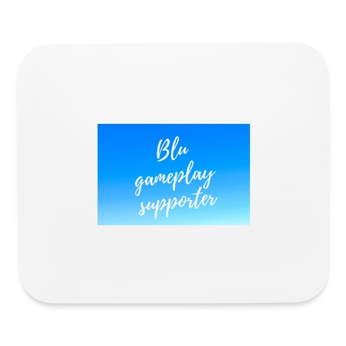 Blu gameplay supporter - Mouse pad Horizontal