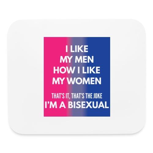 Bisexual - Bi - LGBT - Gay Pride - Gift - Mouse pad Horizontal