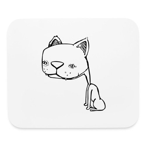 Meowy Wowie - Mouse pad Horizontal