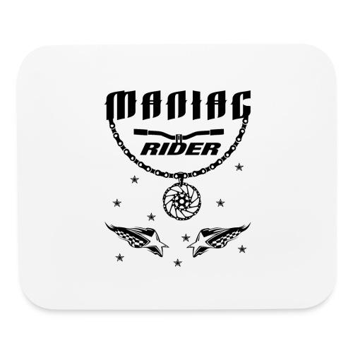 Maniac Rider Downhill Mountainbike bike-rider - Mouse pad Horizontal
