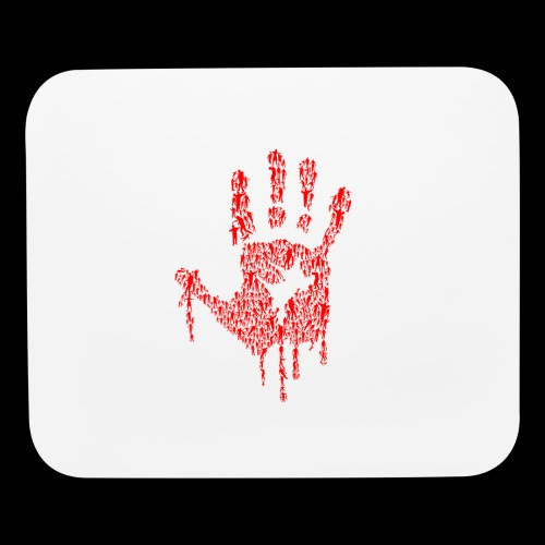 The Haunted Hand Of Zombies - Mouse pad Horizontal