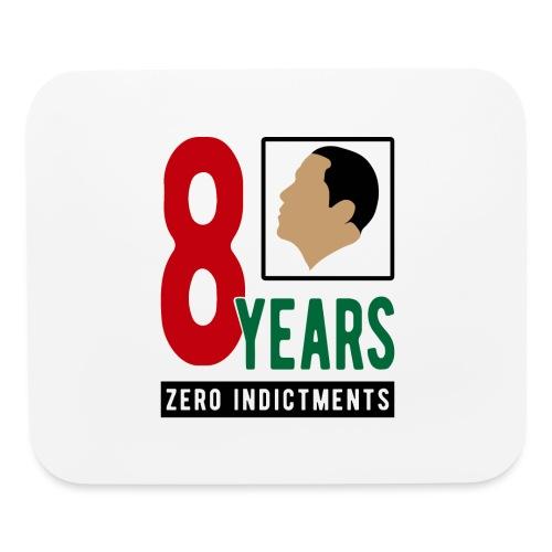 Obama Zero Indictments - Mouse pad Horizontal