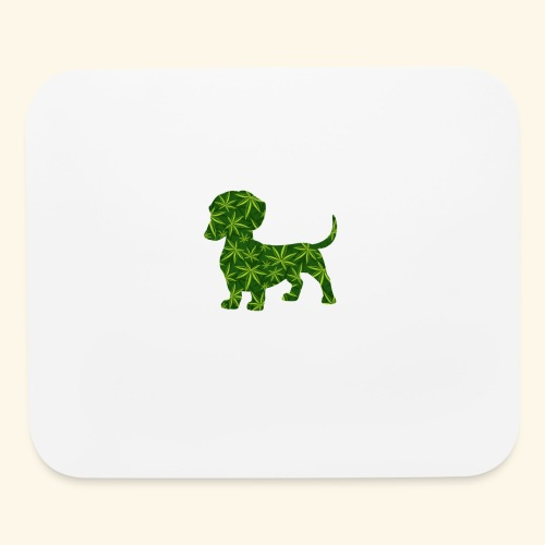 PUFFY DOG - PRESENT FOR SMOKING DOGLOVER - Mouse pad Horizontal