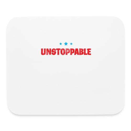 Born To Be Unstoppable - Mouse pad Horizontal
