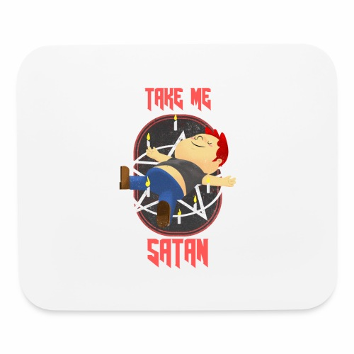 Take Me Satan - Mouse pad Horizontal