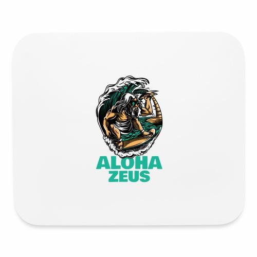 Aloha Zeus: Surfing God - Mouse pad Horizontal