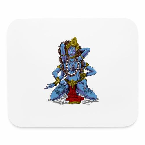 Sexy Hindu Goddess Kali - Mouse pad Horizontal