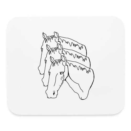 horsey pants - Mouse pad Horizontal