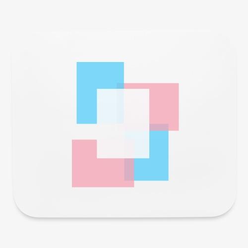 Transgender Pride Logo - Mouse pad Horizontal
