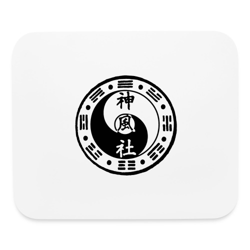 SWC LOGO BLACK - Mouse pad Horizontal