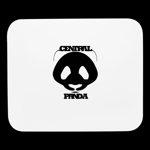 Central Panda in White - Mouse pad Horizontal