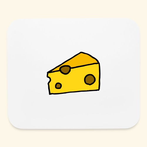 Cheese - Mouse pad Horizontal