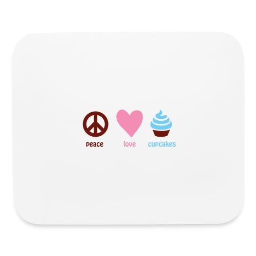 peacelovecupcakes pixel - Mouse pad Horizontal
