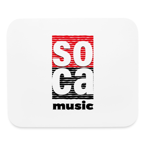 Soca music - Mouse pad Horizontal